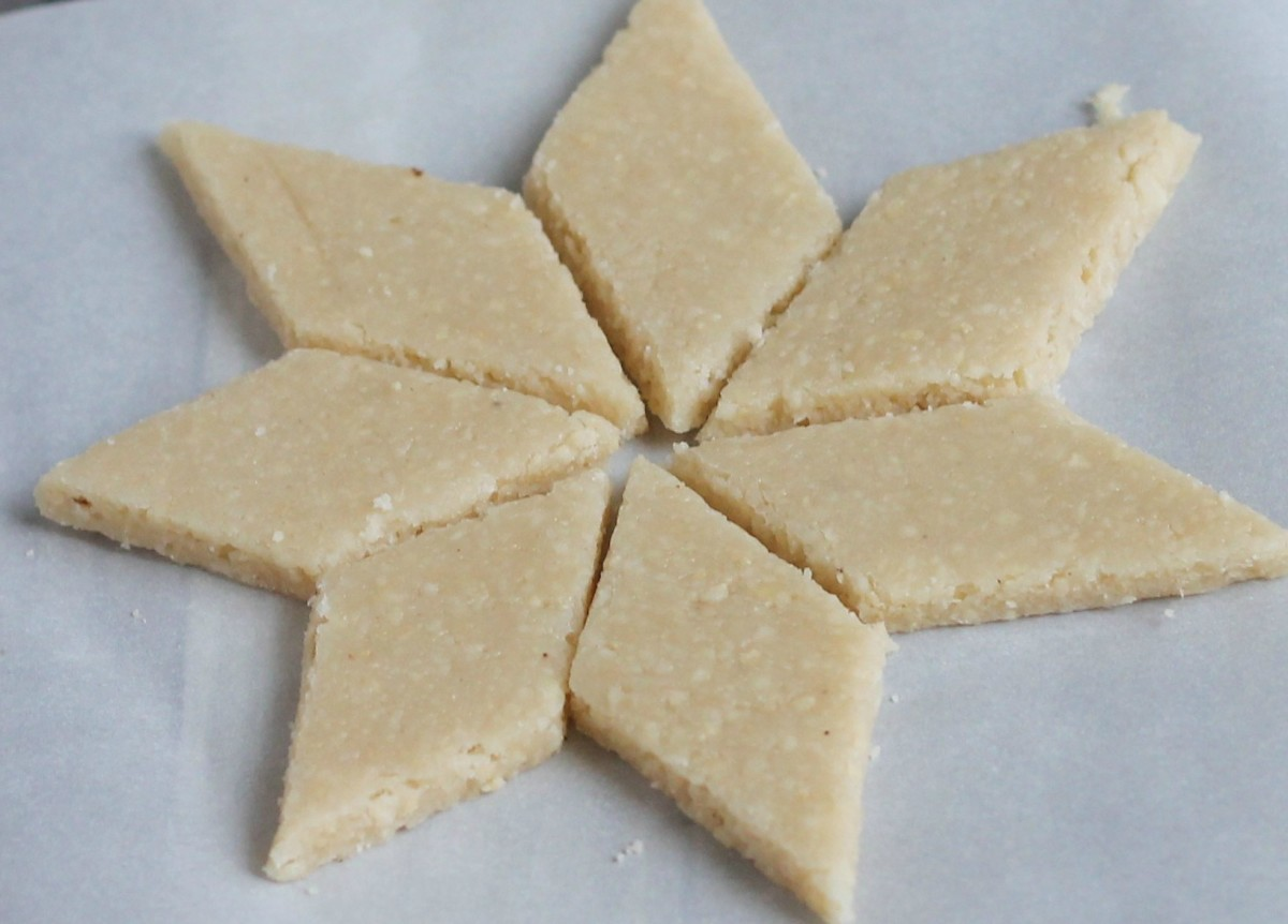 How to Make Cashew Barfi or Kaju Burfi Sweets