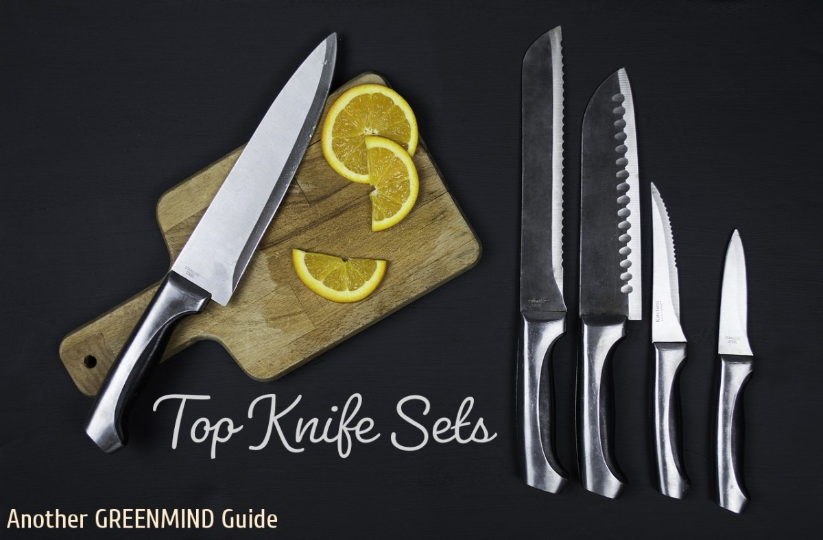 2019's Top 10 Kitchen Knife Sets