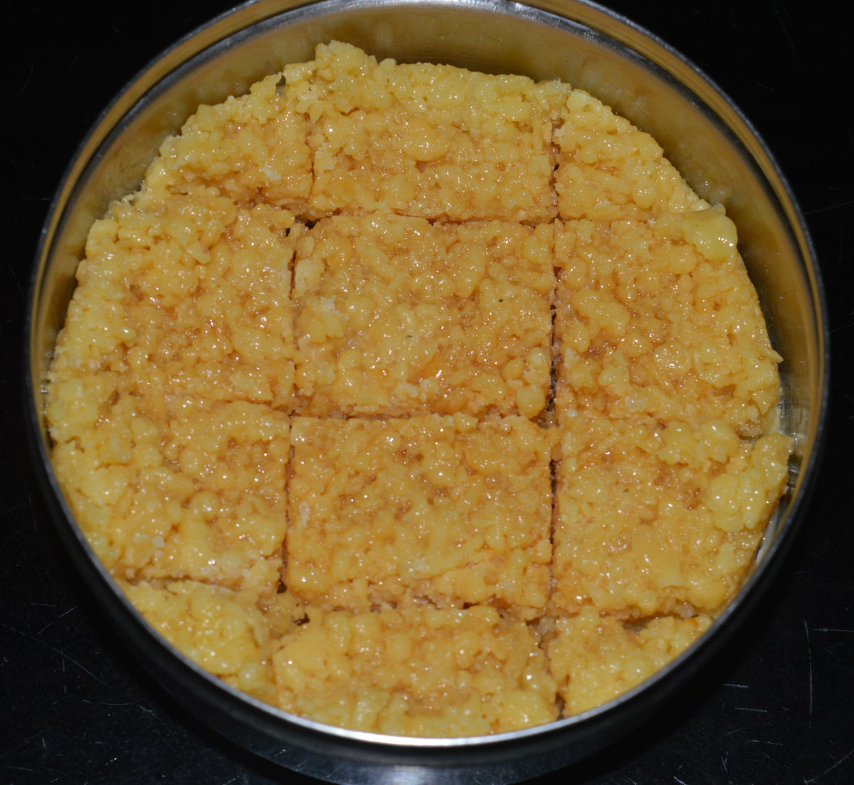 Making Milk Cake (Kalakand), an Authentic Indian Dessert