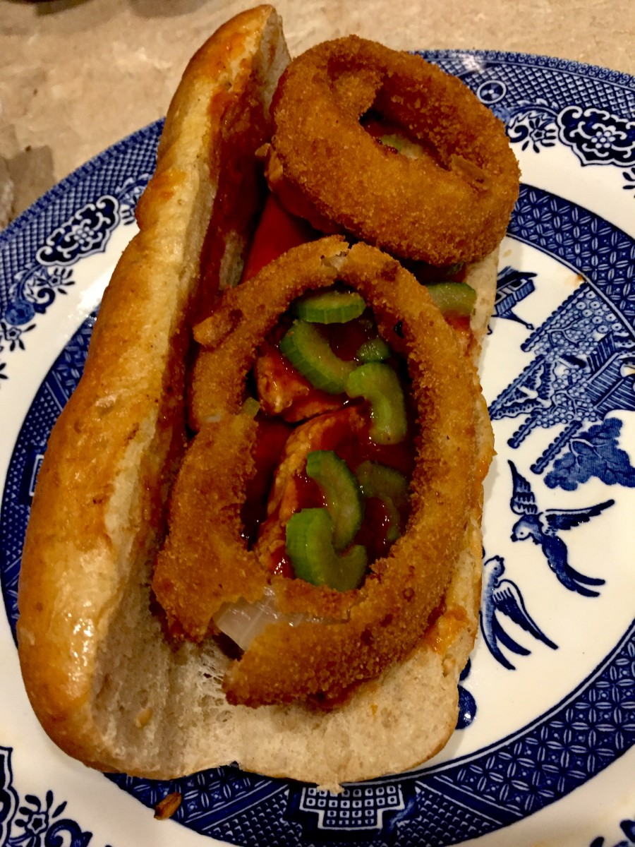 Gourmet Hot Dog: Heavenly Dog