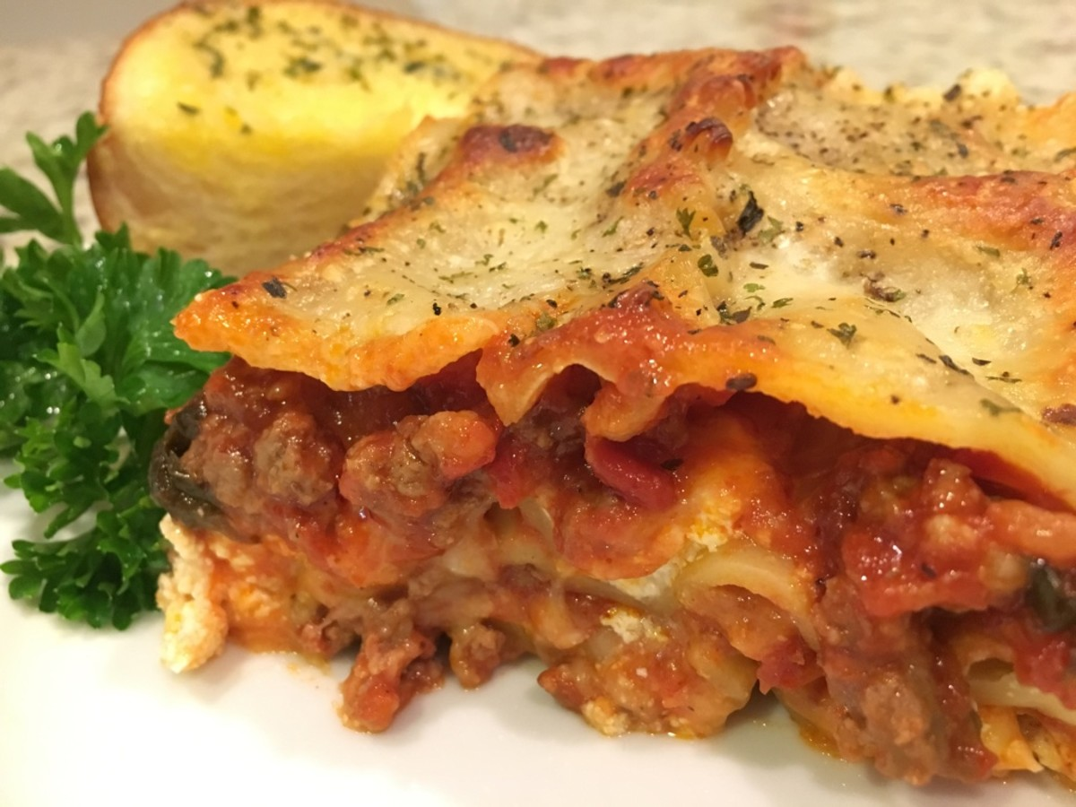 Melissa's Meaty Lasagna Recipe