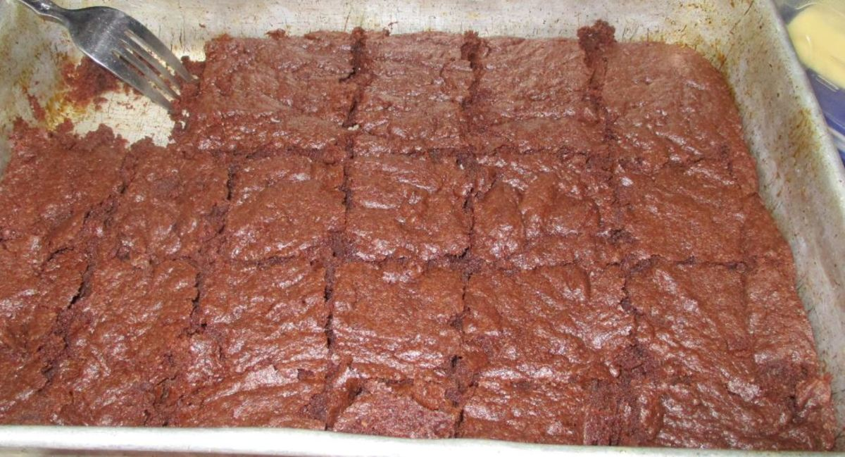 Minnesota Cooking: Crispy, Chewy Cocoa Powder Brownies