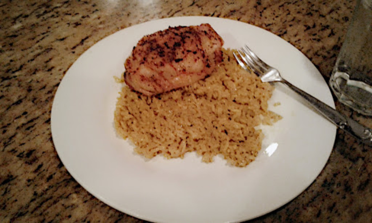 Easy Crispy Cajun Roasted Oven-Baked Chicken Thighs Recipe