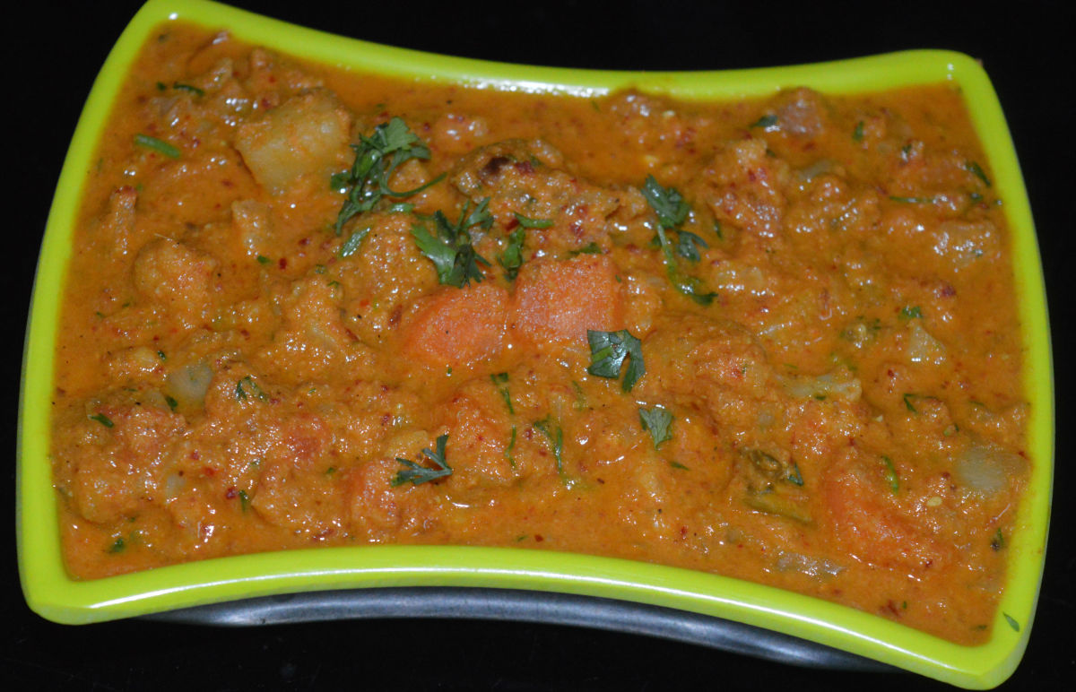 Mixed-Vegetable Red Curry