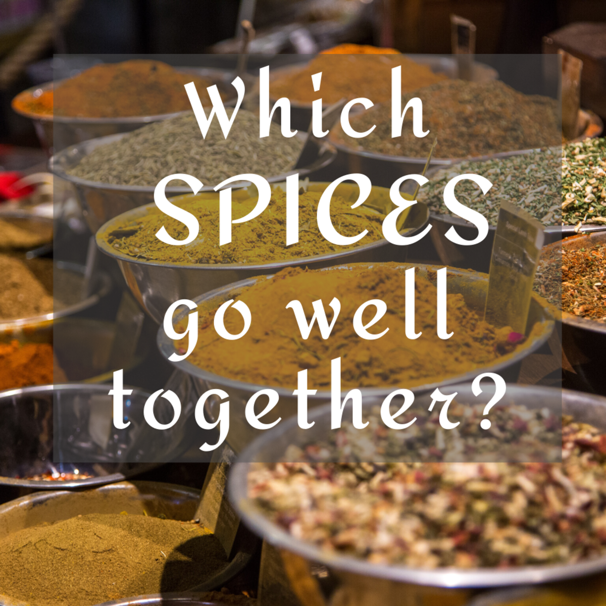 Lists and charts of which spices and herbs go best together.