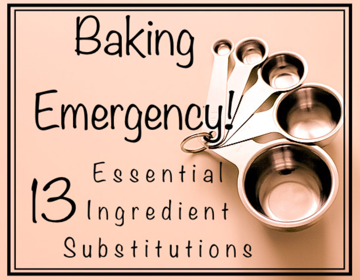 Baking Emergency: 13 Essential Ingredient Substitutions