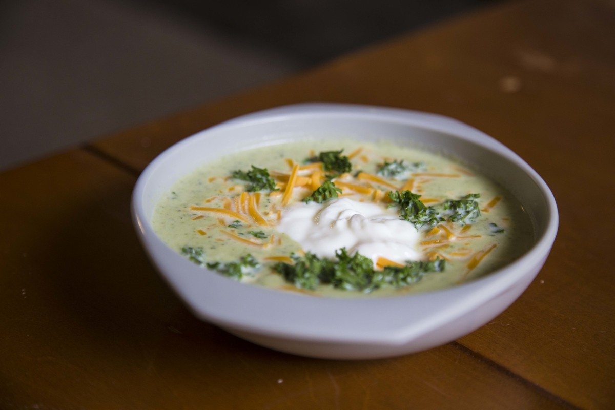 This broccoli soup is a delicious, healthy meal that's perfect for colder weather.