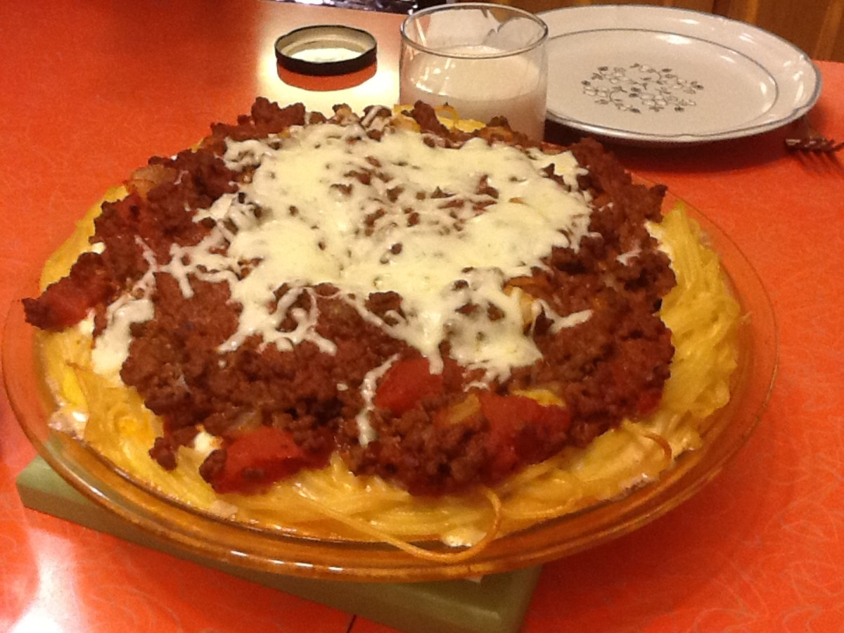 My Favorite Spaghetti Pie Recipe