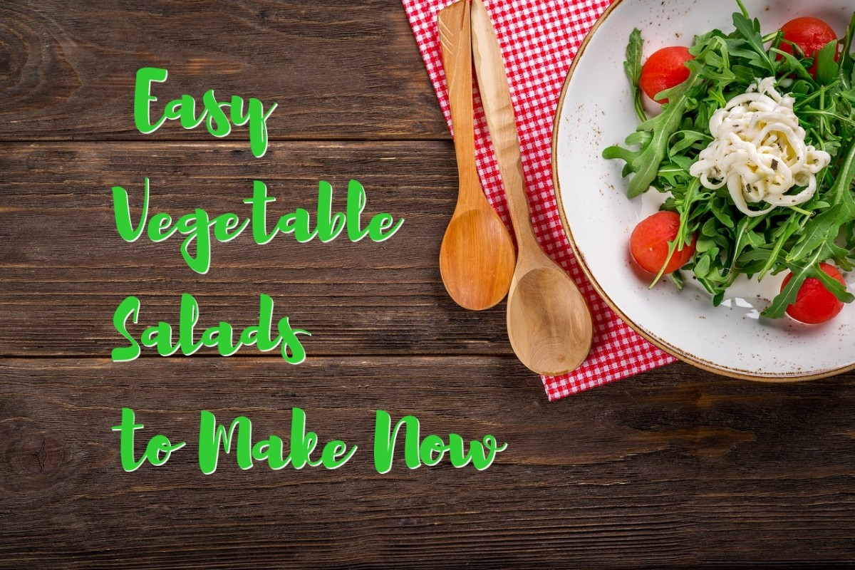 4 Easy Vegetable Salad Recipes