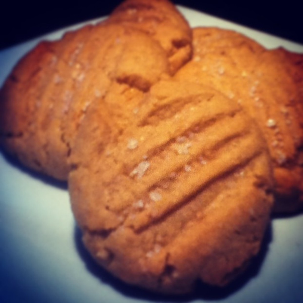 Classic Peanut Butter Cookies With a Salty Twist