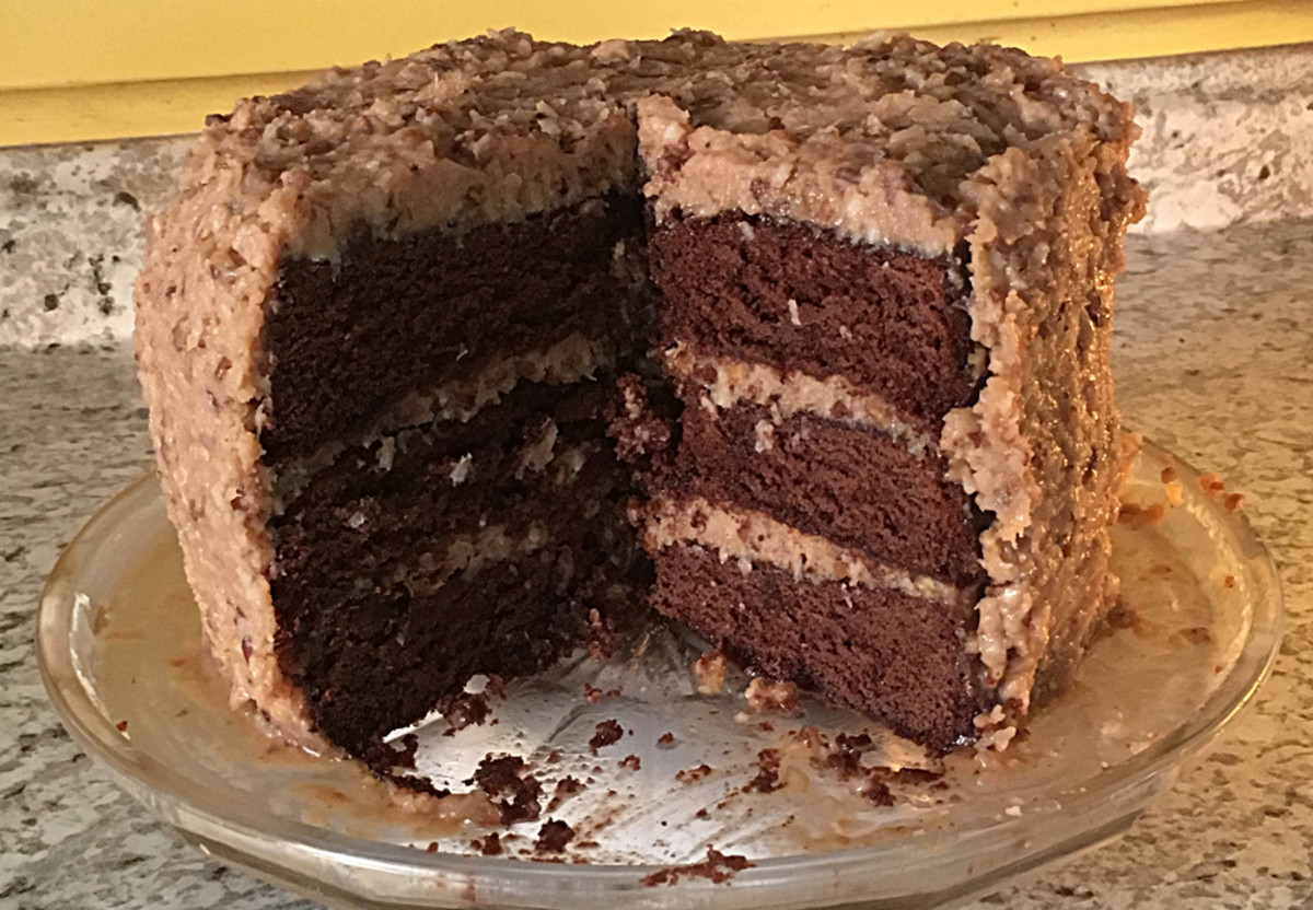 The Ultimate German Chocolate Cake Recipe