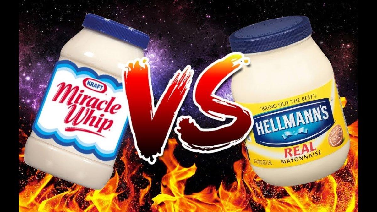Miracle Whip vs Mayonnaise