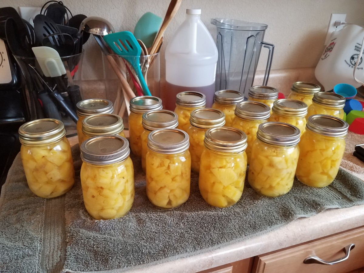 canning-pineapple-chunks-in-water