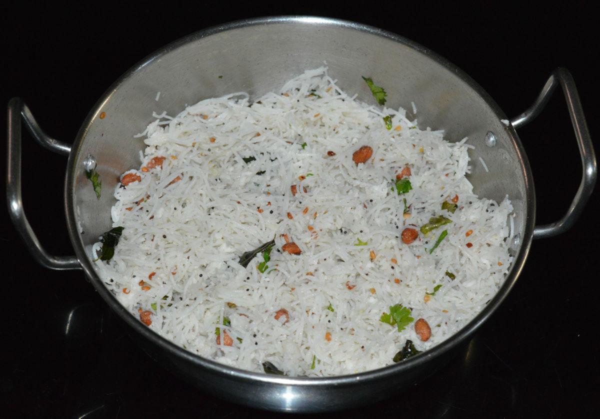 Rice Sevai Upma: An Indian Breakfast or Snack Recipe