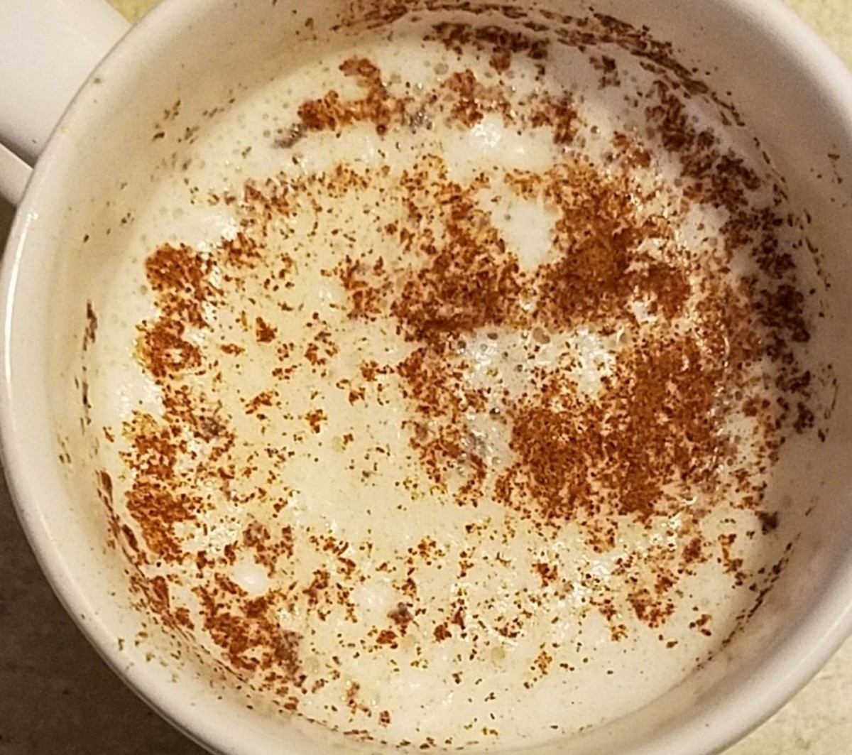 Extreme Diabetes Management: Rise-and-Shine Frothy Morning Latte