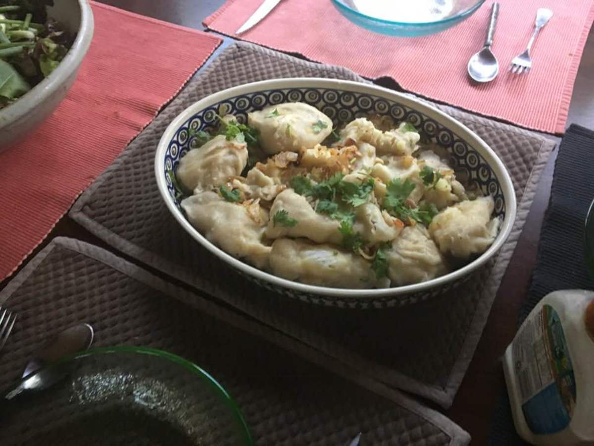 Pierogi Recipe With Senegalese Yassa Sauce