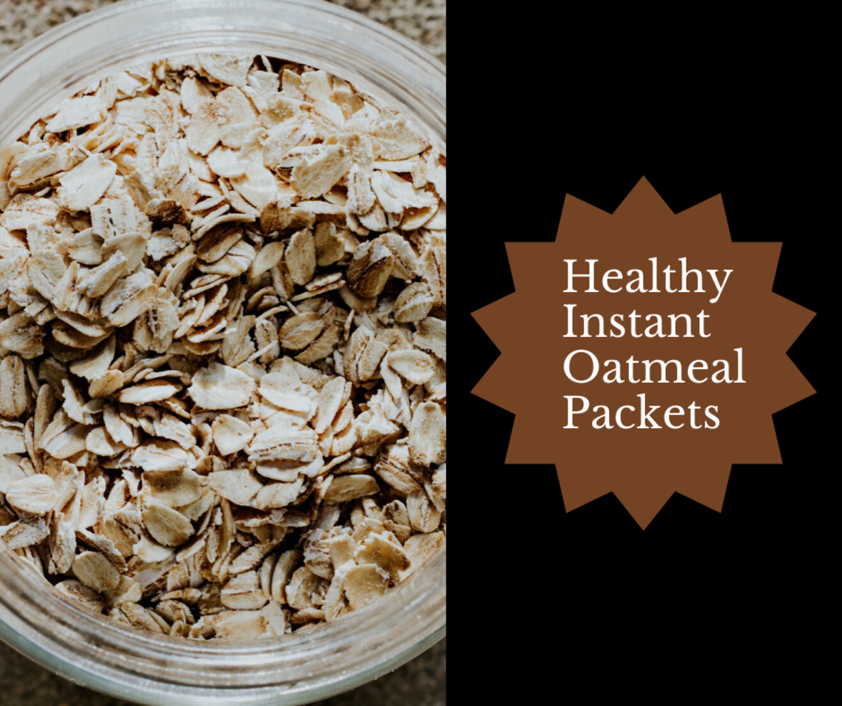 These healthy instant oatmeal packets are truly delicious.