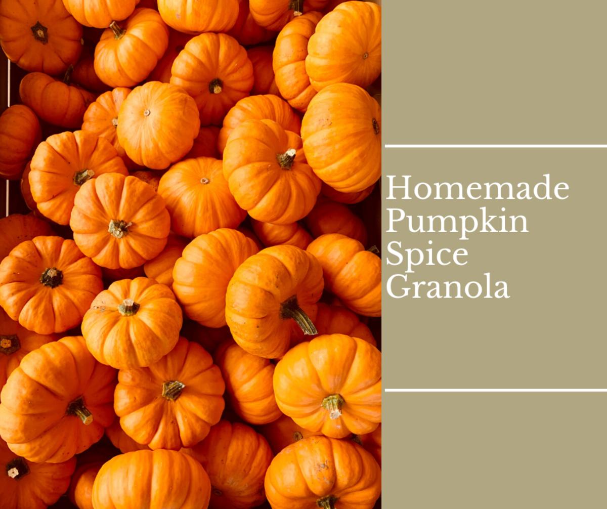 Homemade Pumpkin Spice Granola for the Fall