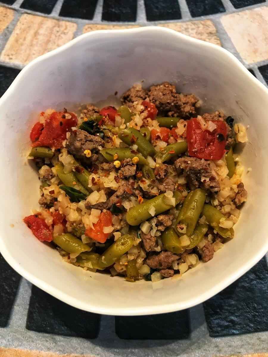 Healthy Beef Skillet Dinner