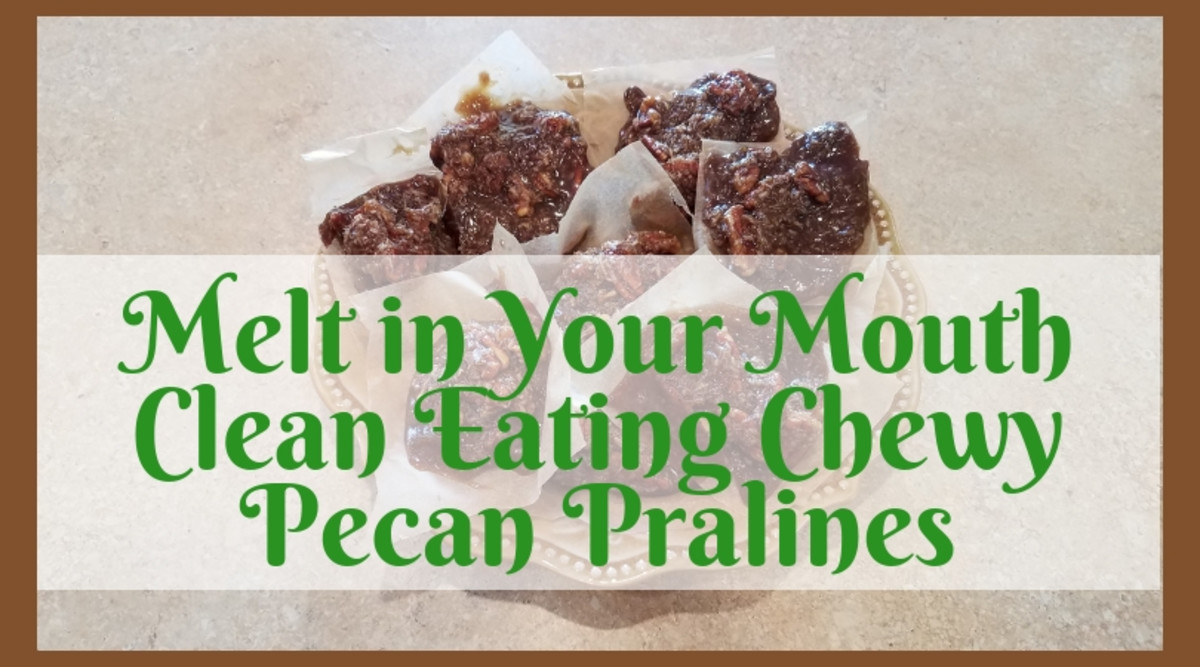Melt in Your Mouth Clean Eating Chewy Pecan Pralines