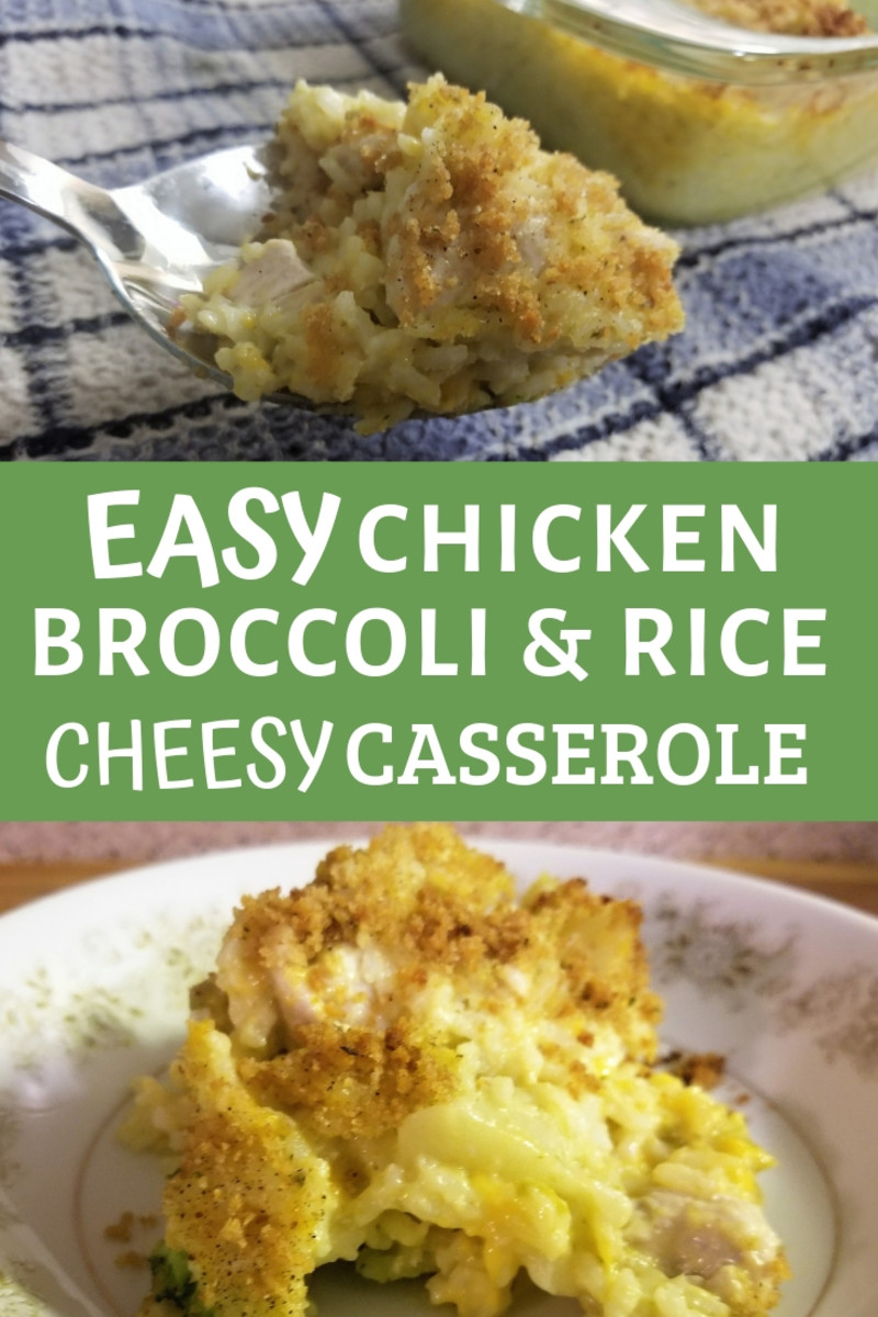 chicken, broccoli, and rice cheesy casserole