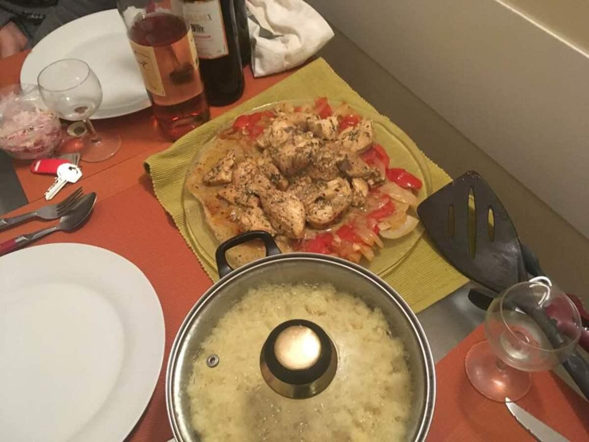 Tender Lemony Tarragon Chicken With Garlic Cloves Recipe