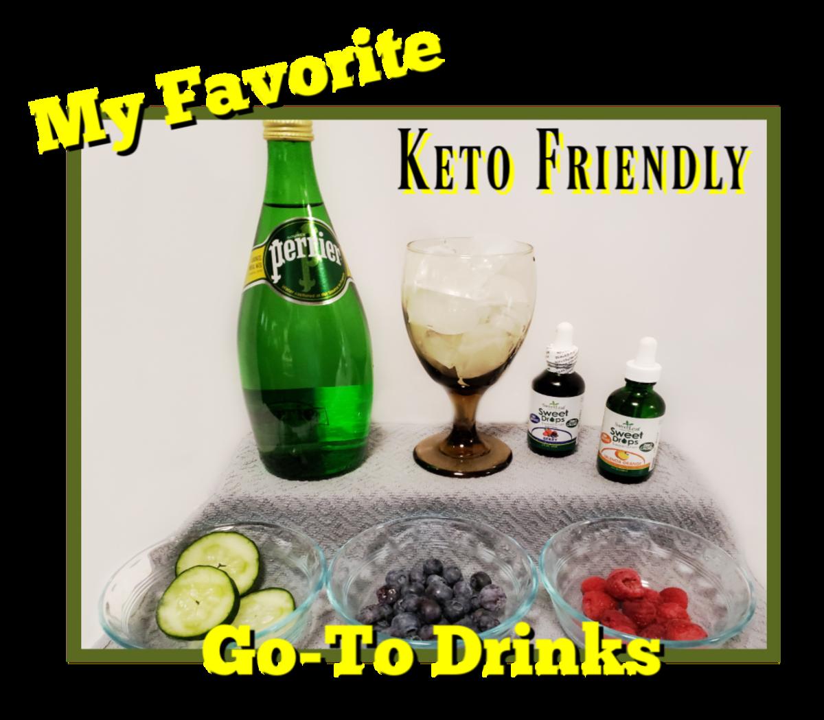 My Favorite Keto Go-To Drinks