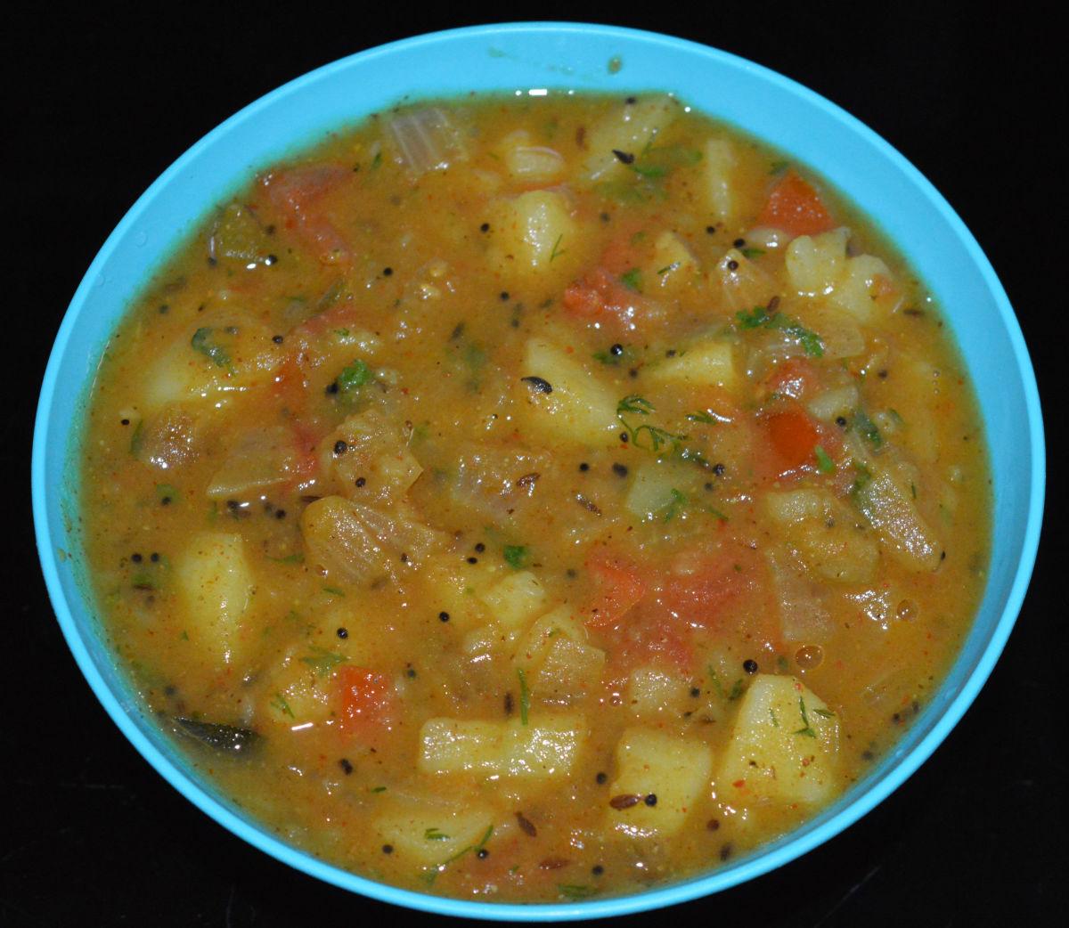 How to Make Potato Curry