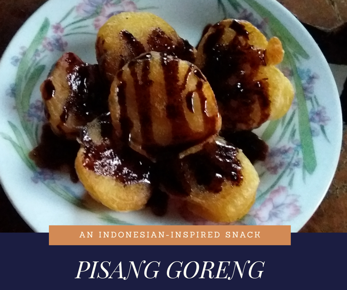 Learn how to cook pisang goreng