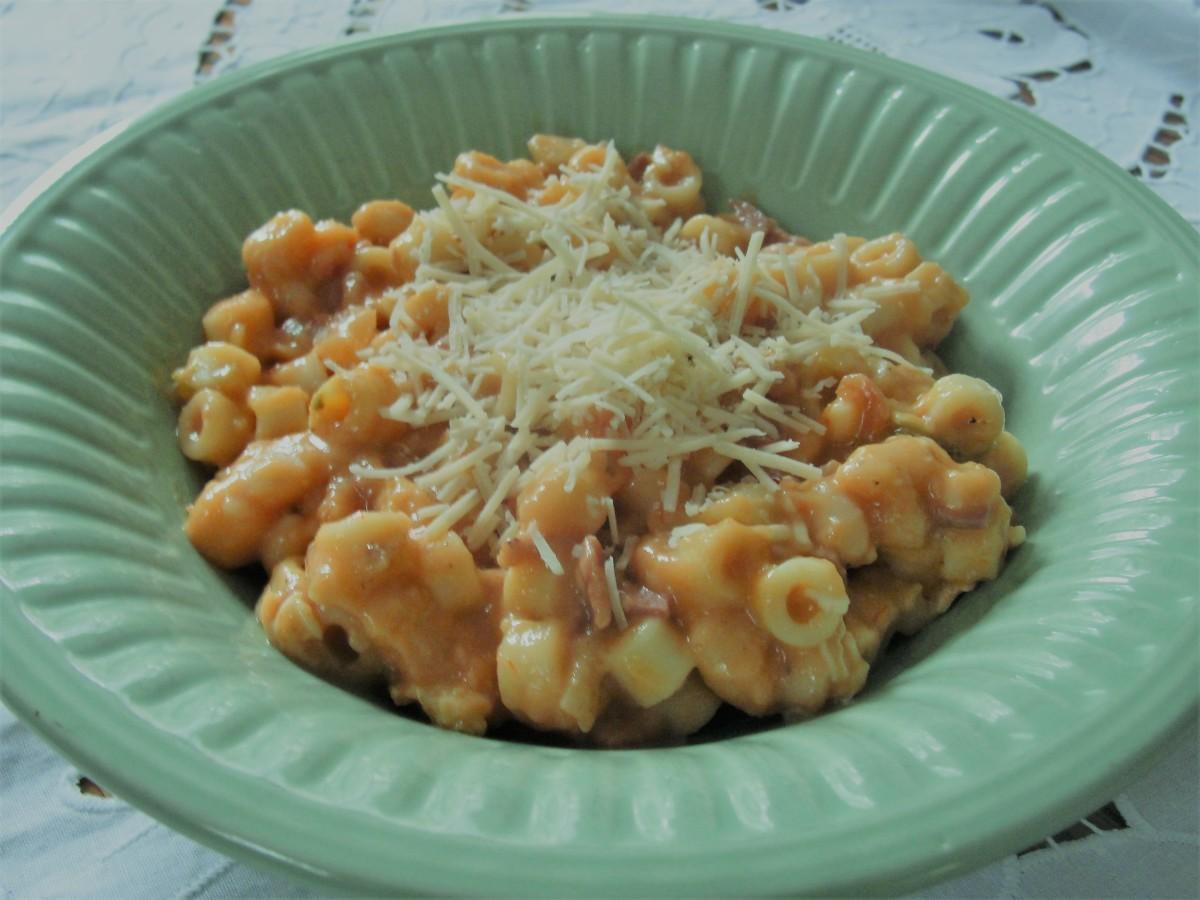 Perfect pasta fagioli