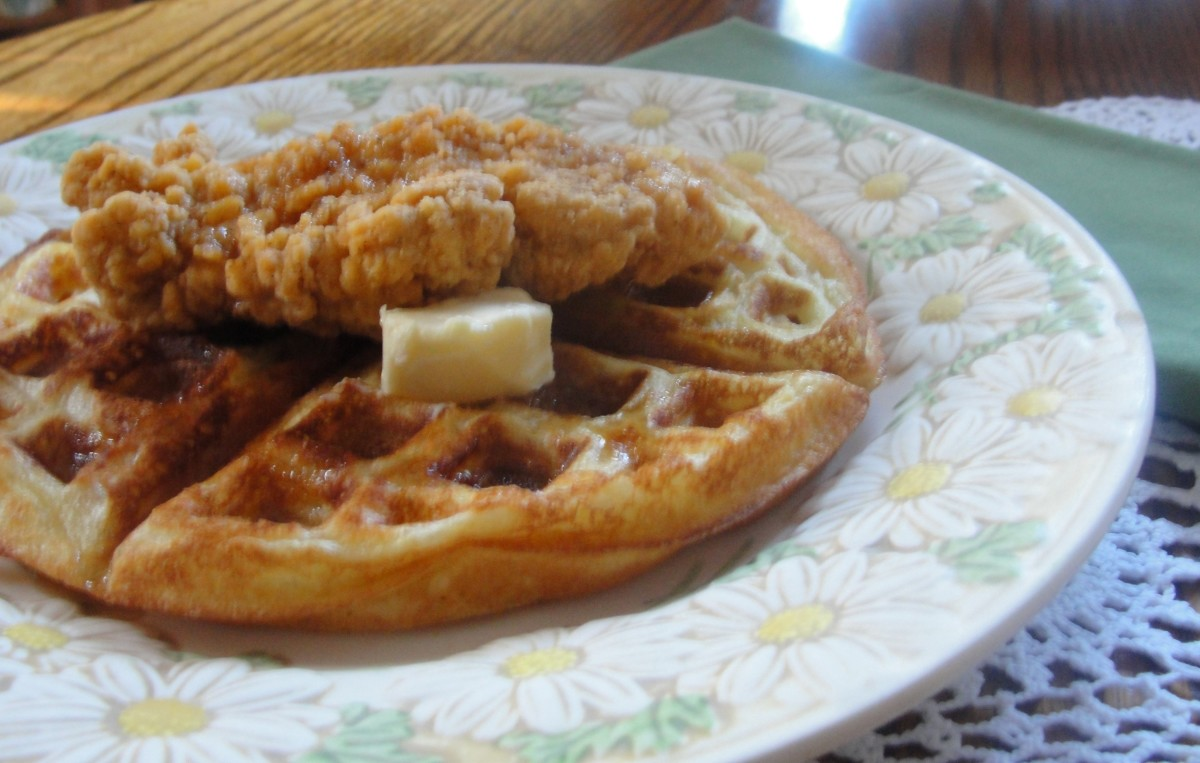 Perfect Chicken and Waffles