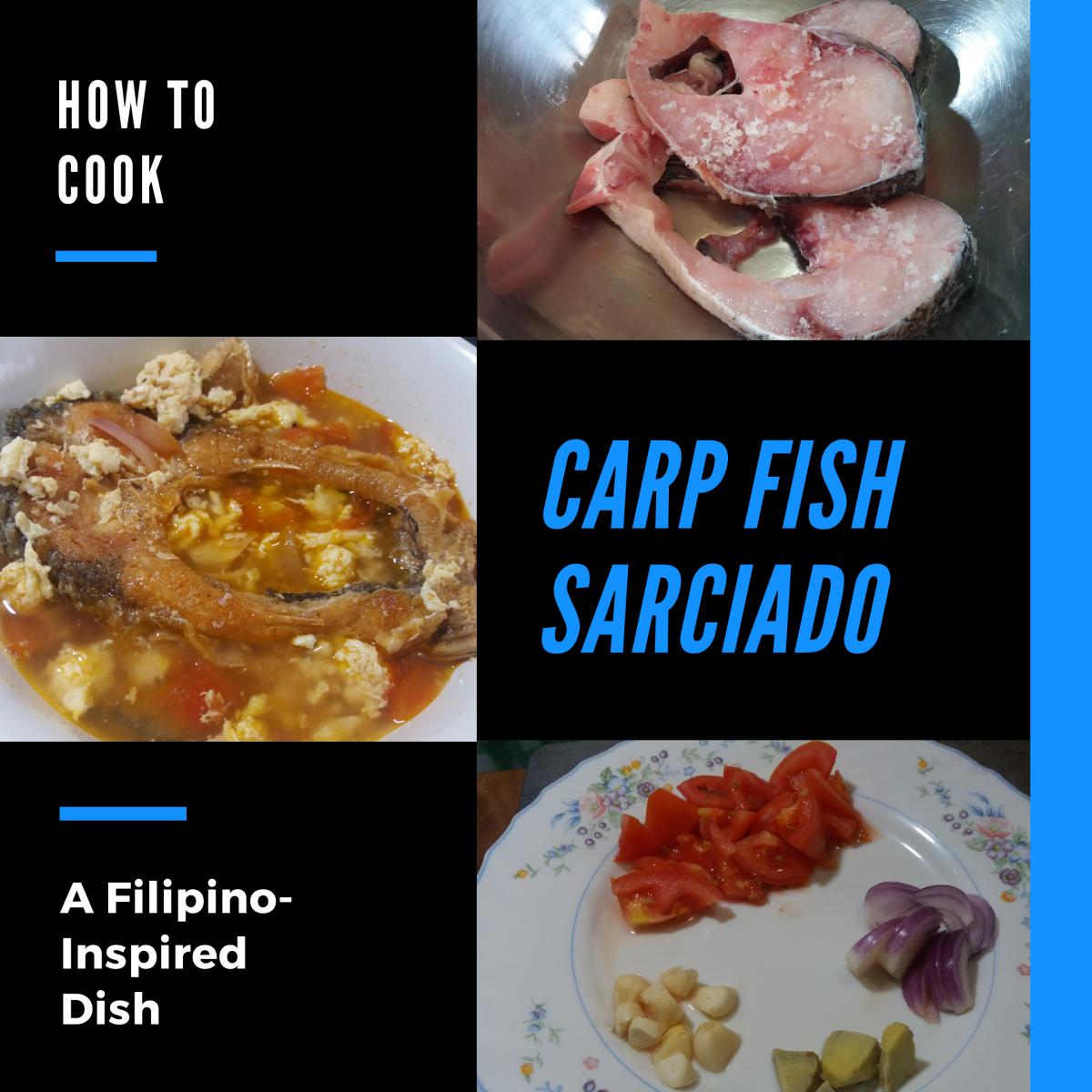 Learn how to prepare carp fish sarciado.