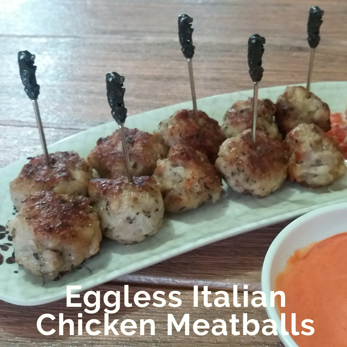 Learn how to prepare Italian chicken meatballs with no eggs.