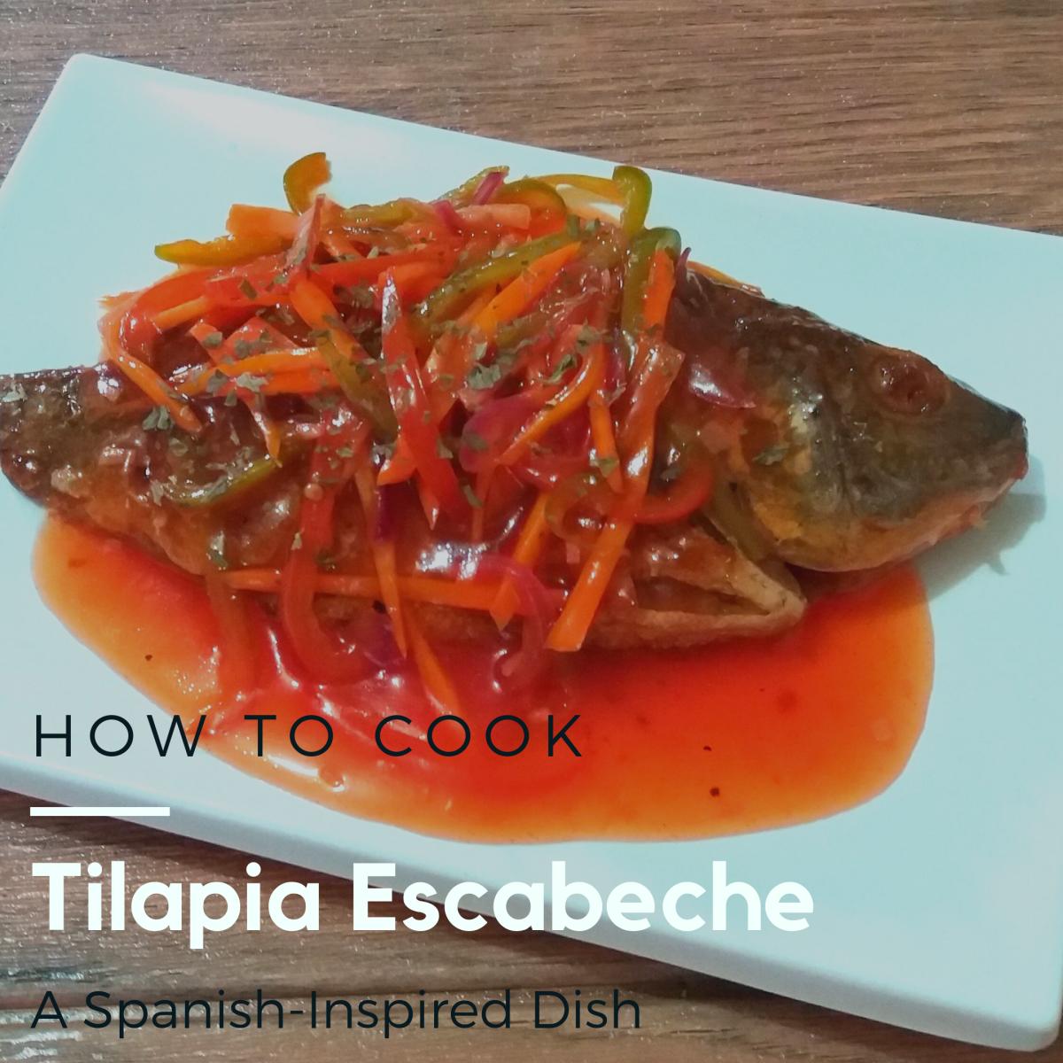 Learn how to prepare tilapia escabeche.