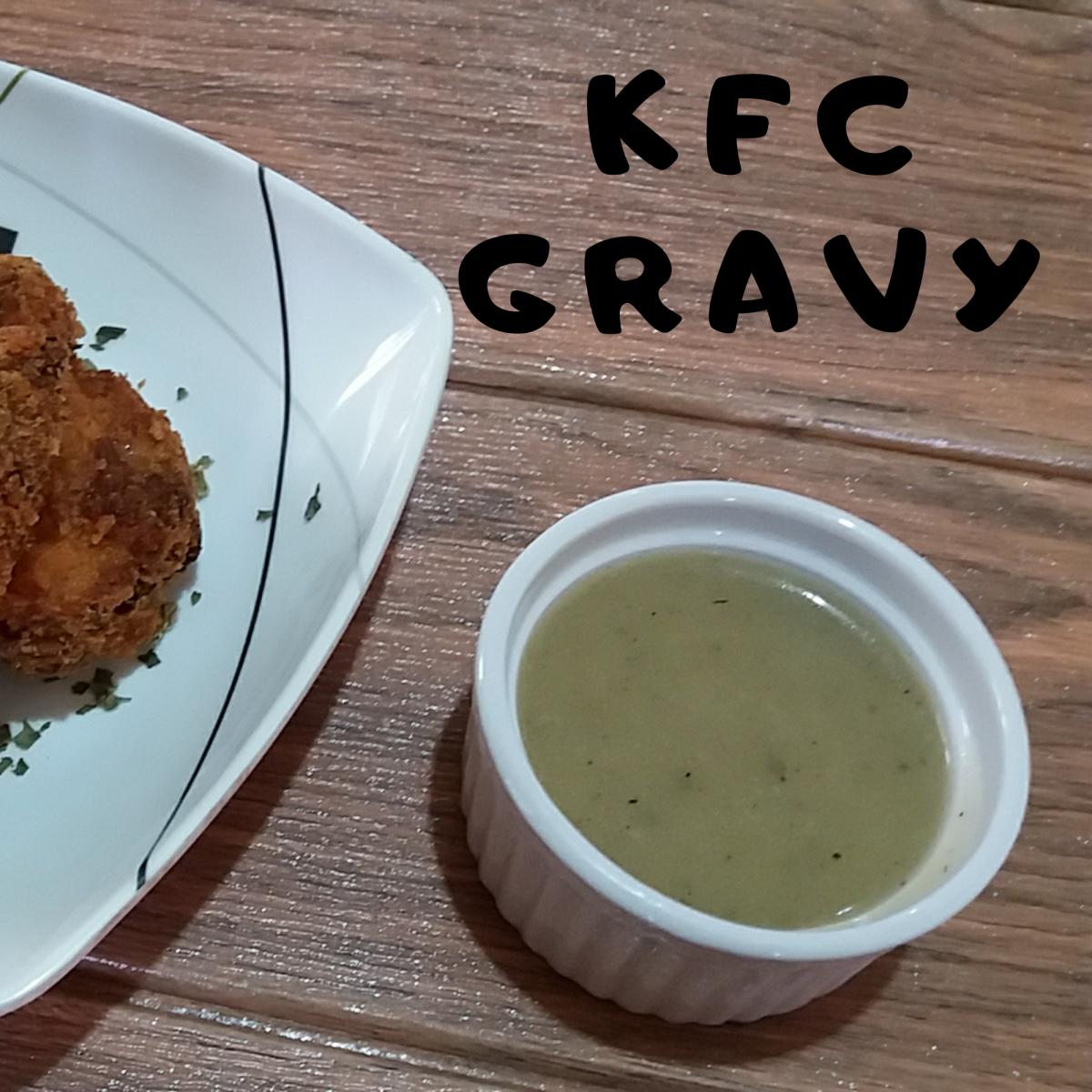 How to Make KFC Gravy
