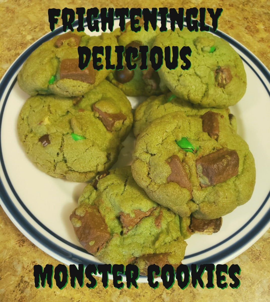 Frighteningly Delicious Monster Cookies