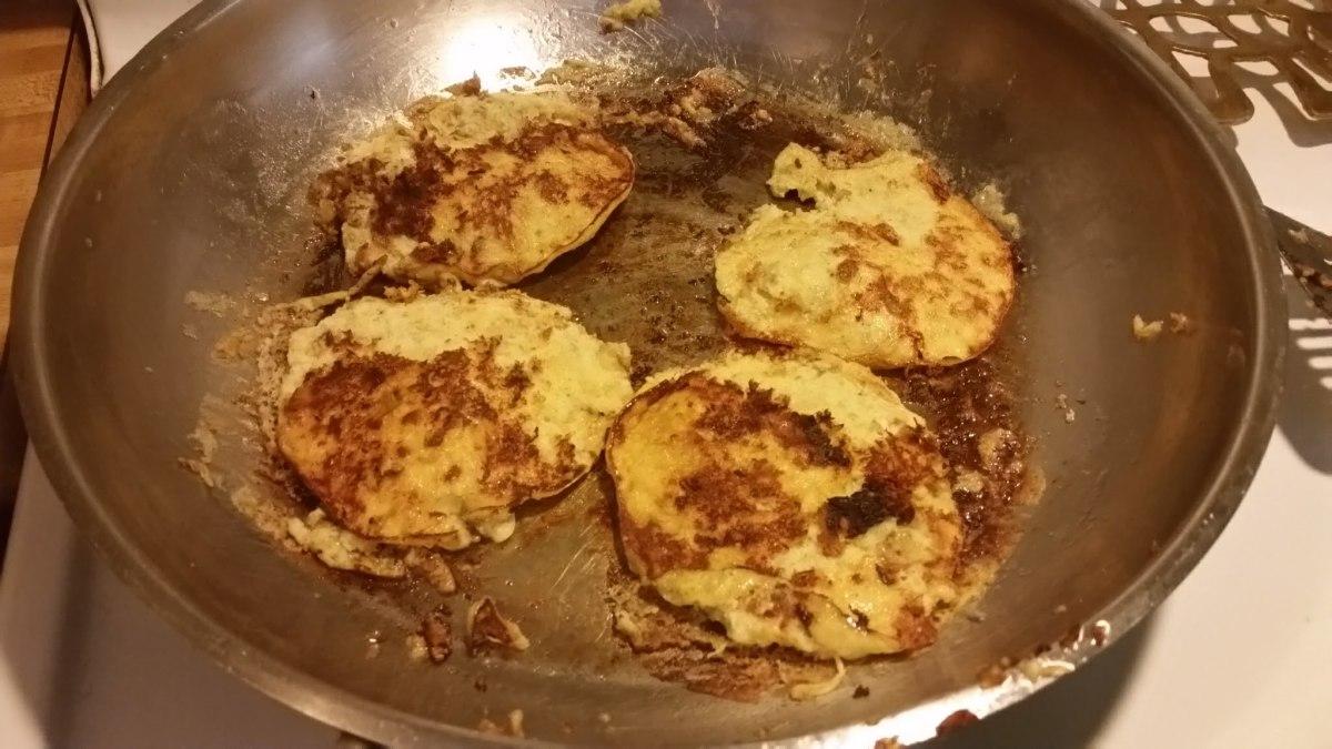 Two-Ingredient Banana Pancakes