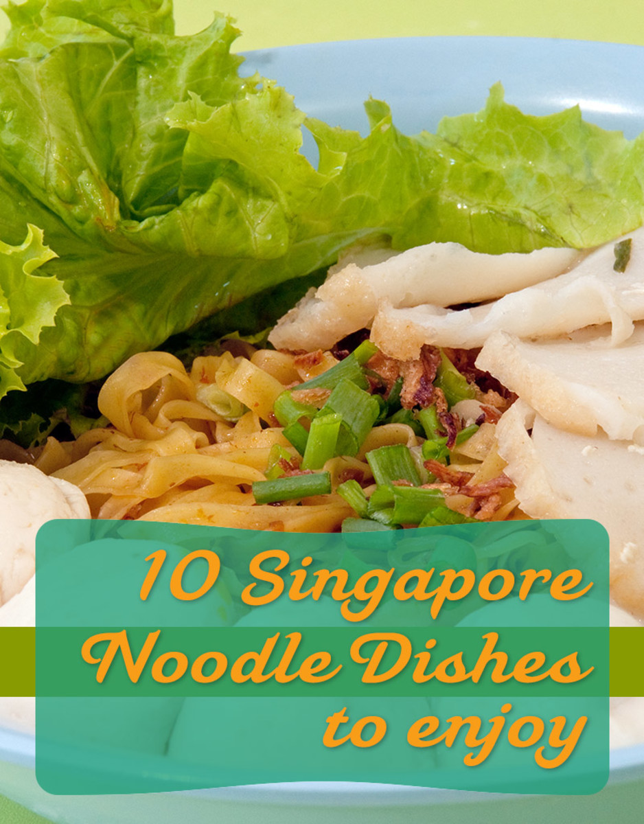 10 Yummy Noodle Dishes to Enjoy in Singapore