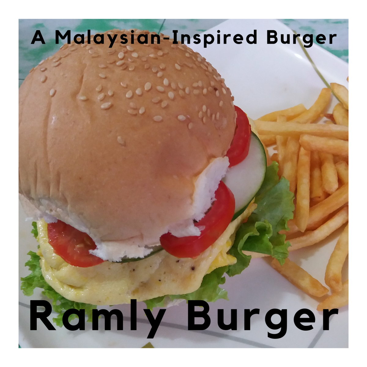 Learn how to make a Ramly burger