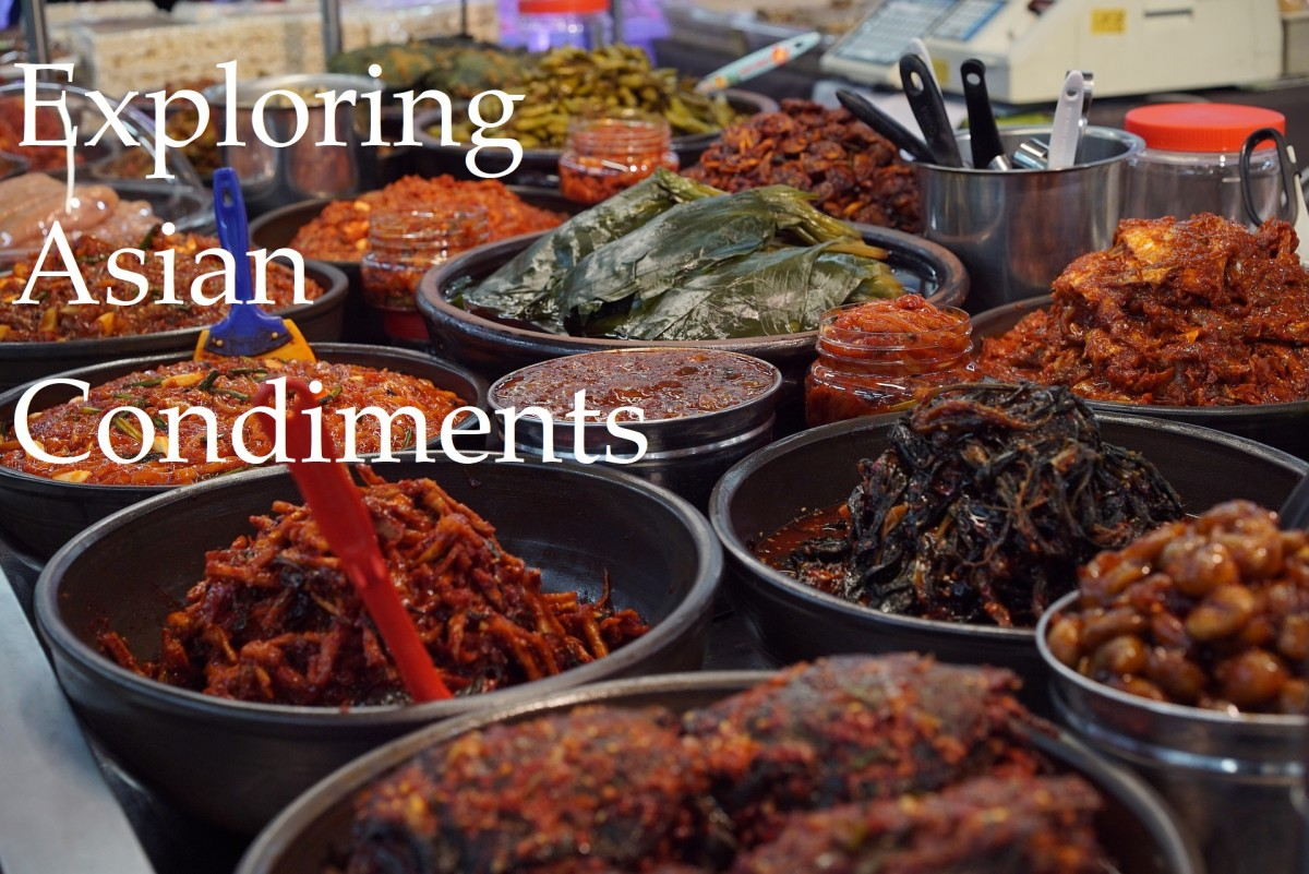 Exploring Asian Condiments