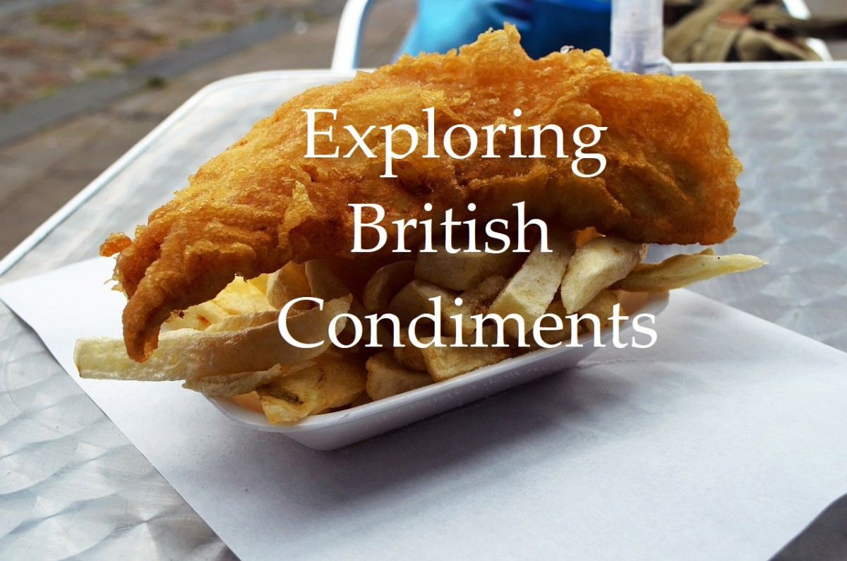 Discover the wide range of flavors provided by British condiments.