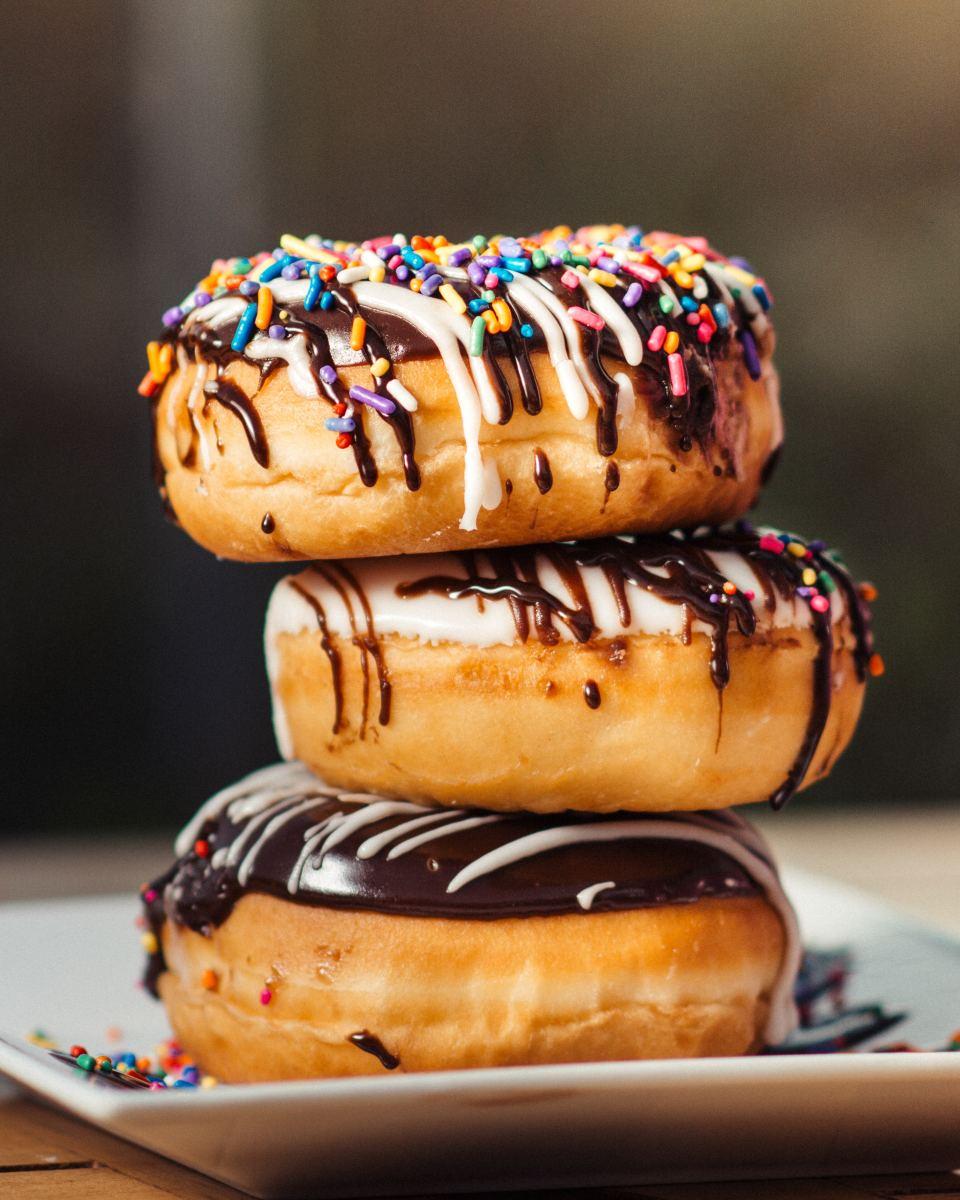 Yum, donuts!
