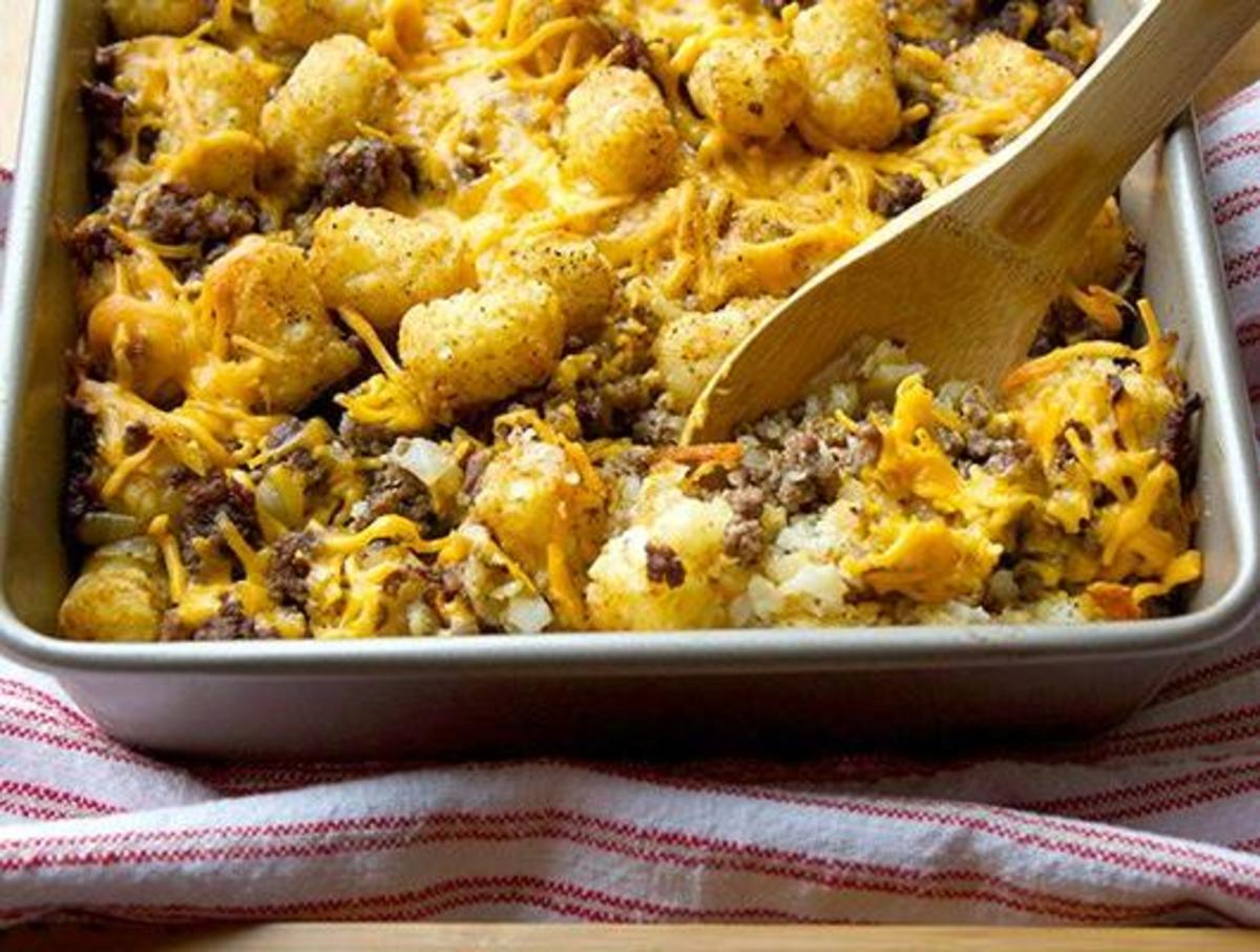 Tater Tot Hot Dish: 10 Recipes for the Potato Puff Casserole