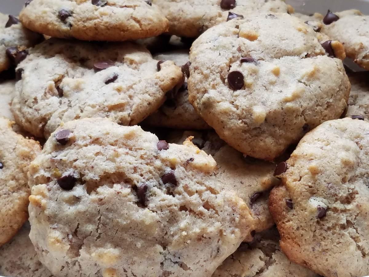 Gluten-Free Maple Walnut Chocolate Chip Cookies