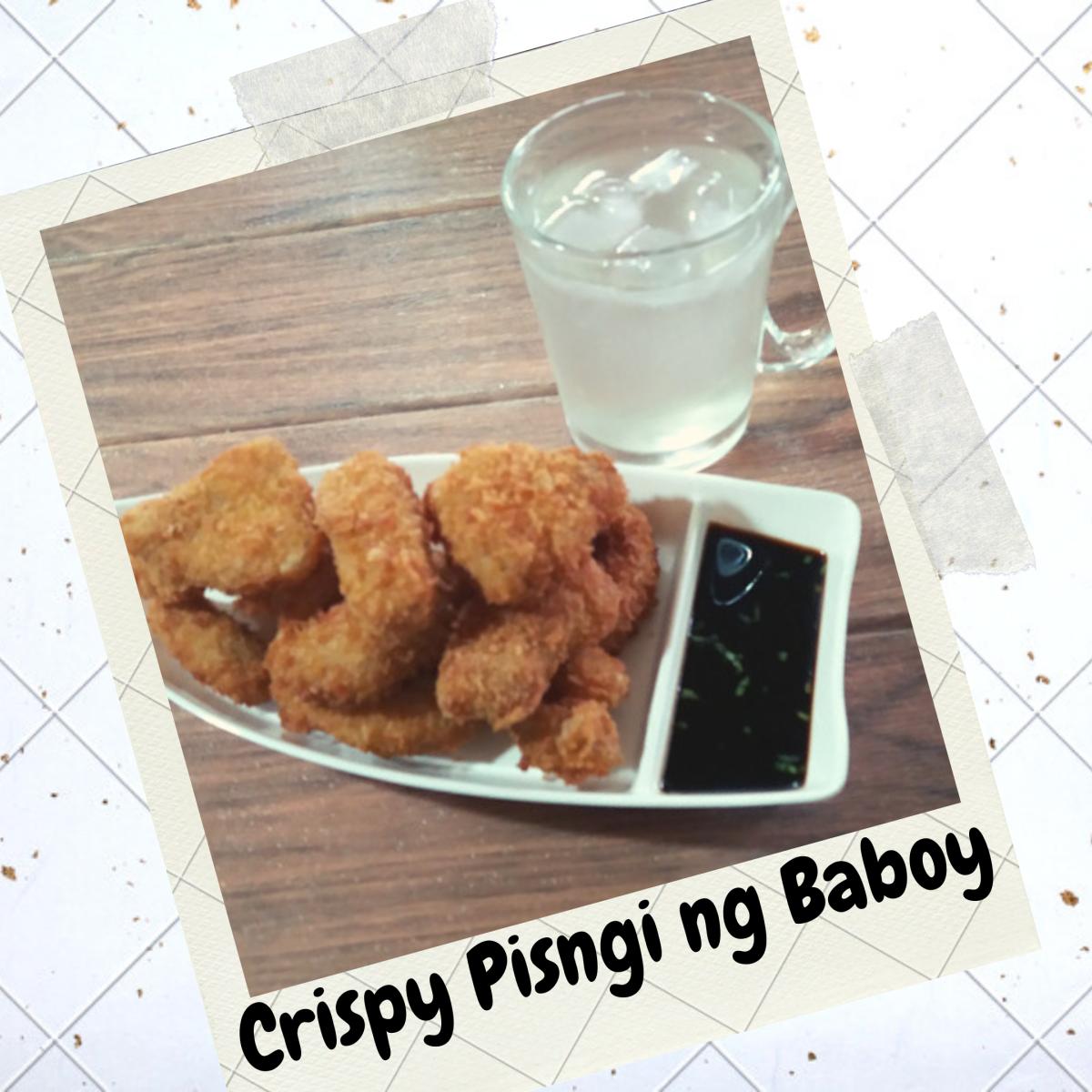 Learn how to make crispy pisngi ng baboy