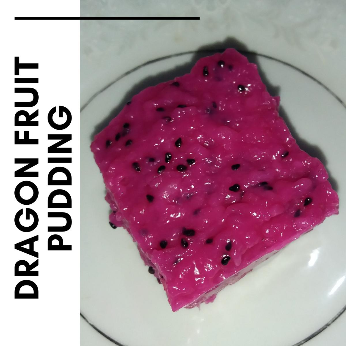 How to Make Dragon Fruit Pudding