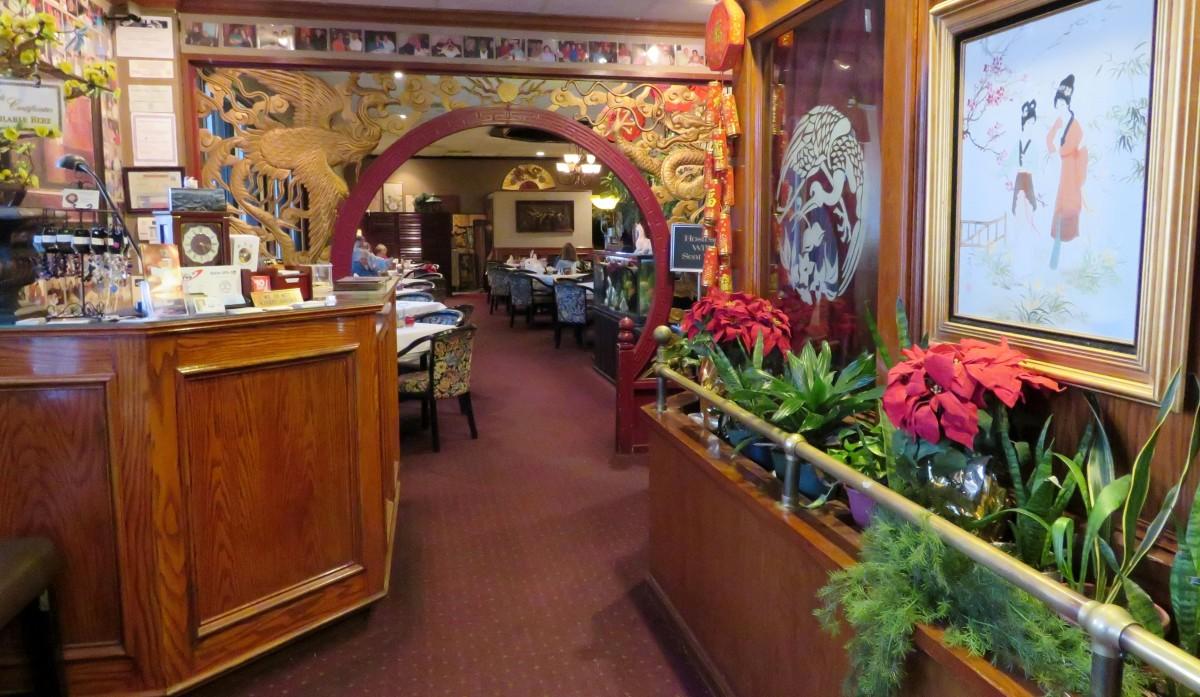 Oriental Garden restaurant entrance