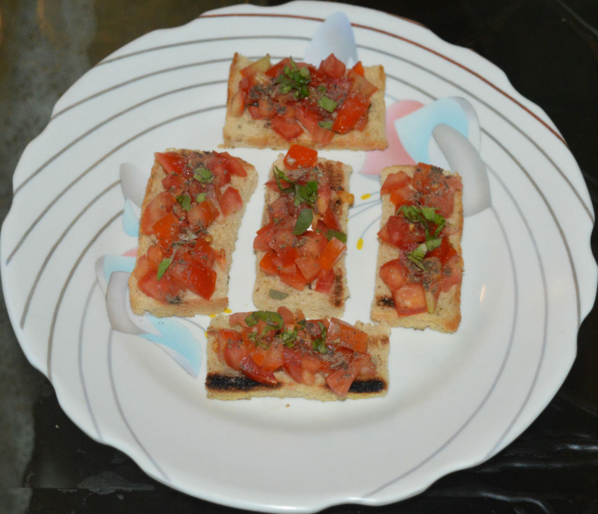 How to Make Italian Tomato Basil Bruschetta