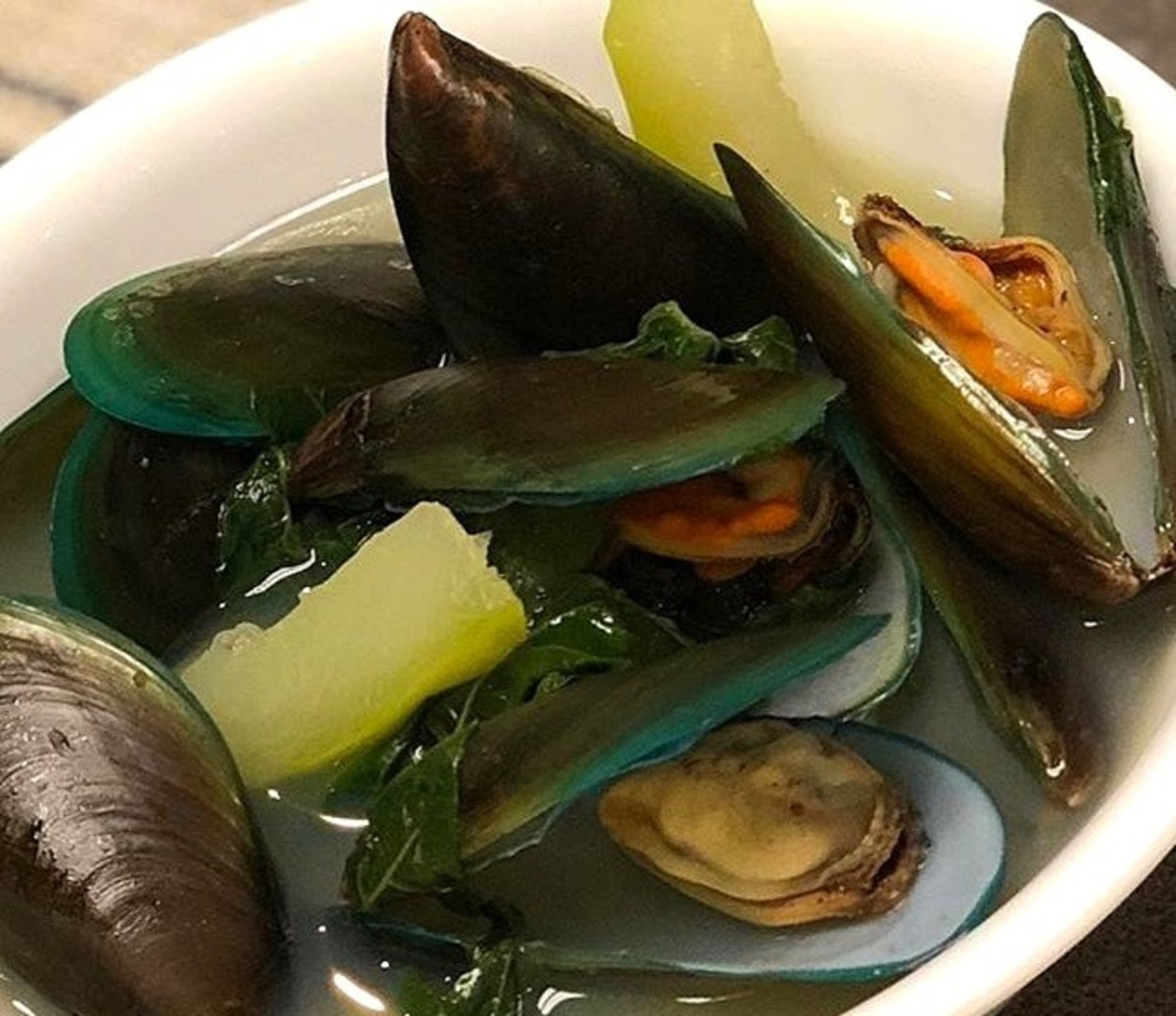 Filipino-Style Mussel Soup (Sabaw ng Tahong)