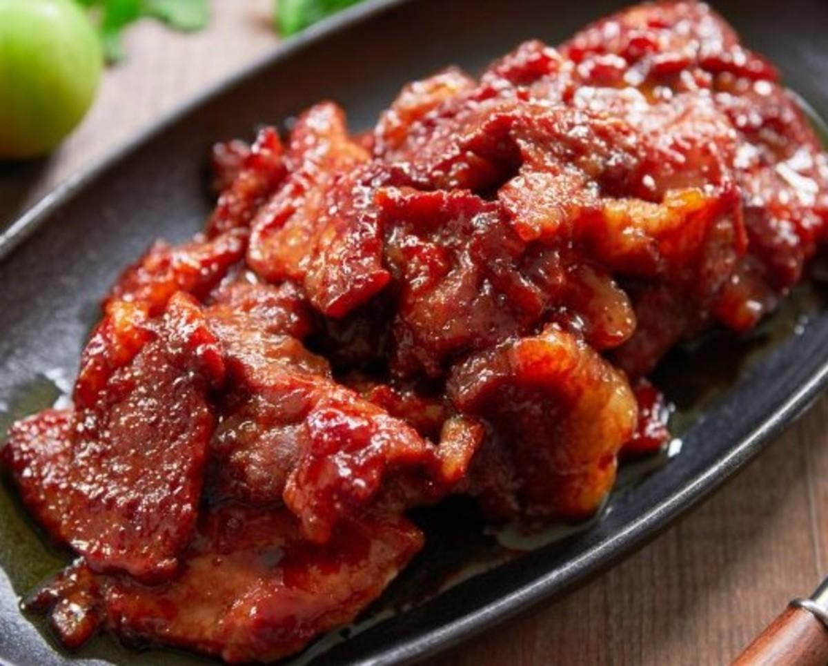 Filipino Cured Pork (Tocino na Baboy)